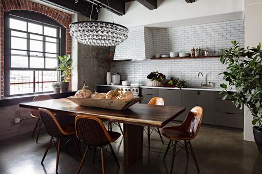 Un mix entre vintage et modernit d couvrir - Cuisine retro moderne ...