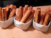 Fingers apéritifs carotte, bacon mimolette