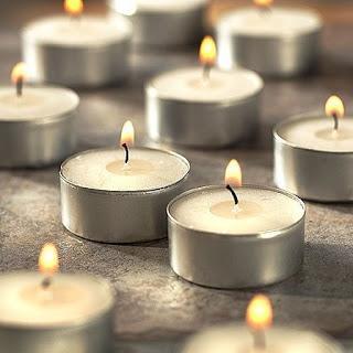 Bougie decoration de table de mariage paperblog - Decoration de table avec bougies ...
