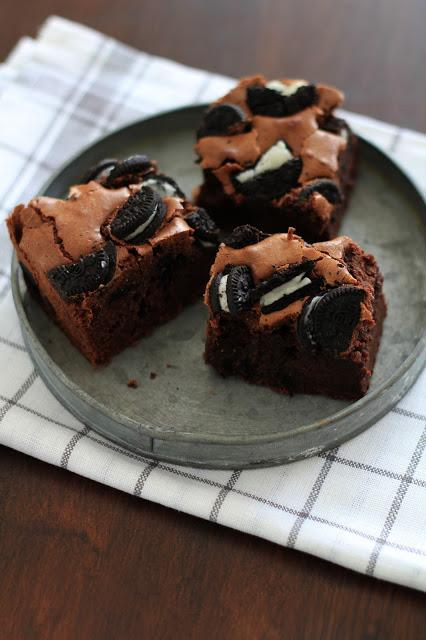 Oreo brownies , une variante irrésitible du brownie