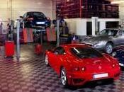 Technique photos industrielles dans garage