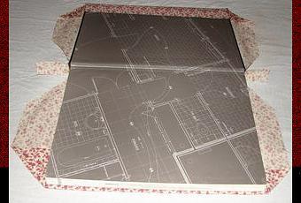 tutoriel comment faire pour recouvrir un livre avec du. Black Bedroom Furniture Sets. Home Design Ideas