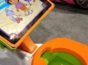 iPotty bébé avec support iPad
