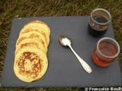 Pancakes avec gelées café