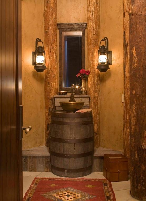 Salle de bain de taverne d couvrir for Salle de bain ancienne photos