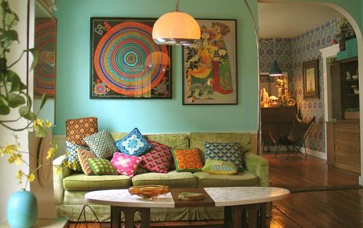 tendance d co boh me d couvrir. Black Bedroom Furniture Sets. Home Design Ideas