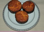 Muffins gâteau l'orange sans gluten.