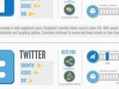 [Infographie] Marketing quels réseaux sociaux faut-il cibler 2013