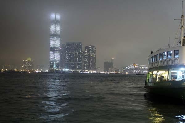 Traversée en star ferry à Hong Kong
