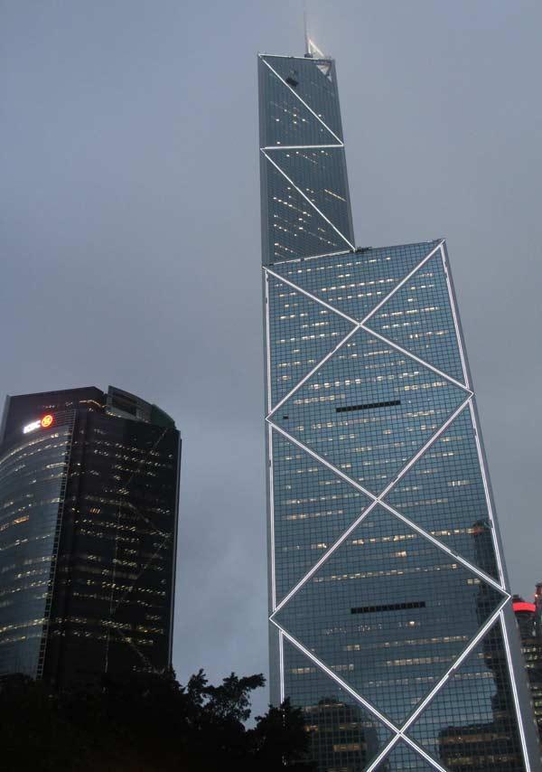 Tour de la banque de Chine à Hong Kong
