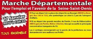 Marche pour l'emploi en Seine Saint Denis 2