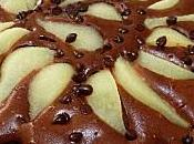 Tarte façon cake poires chocolat Felder)
