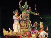 janvier 2013: Thaïlande, Udonthani. Spectacle Khon