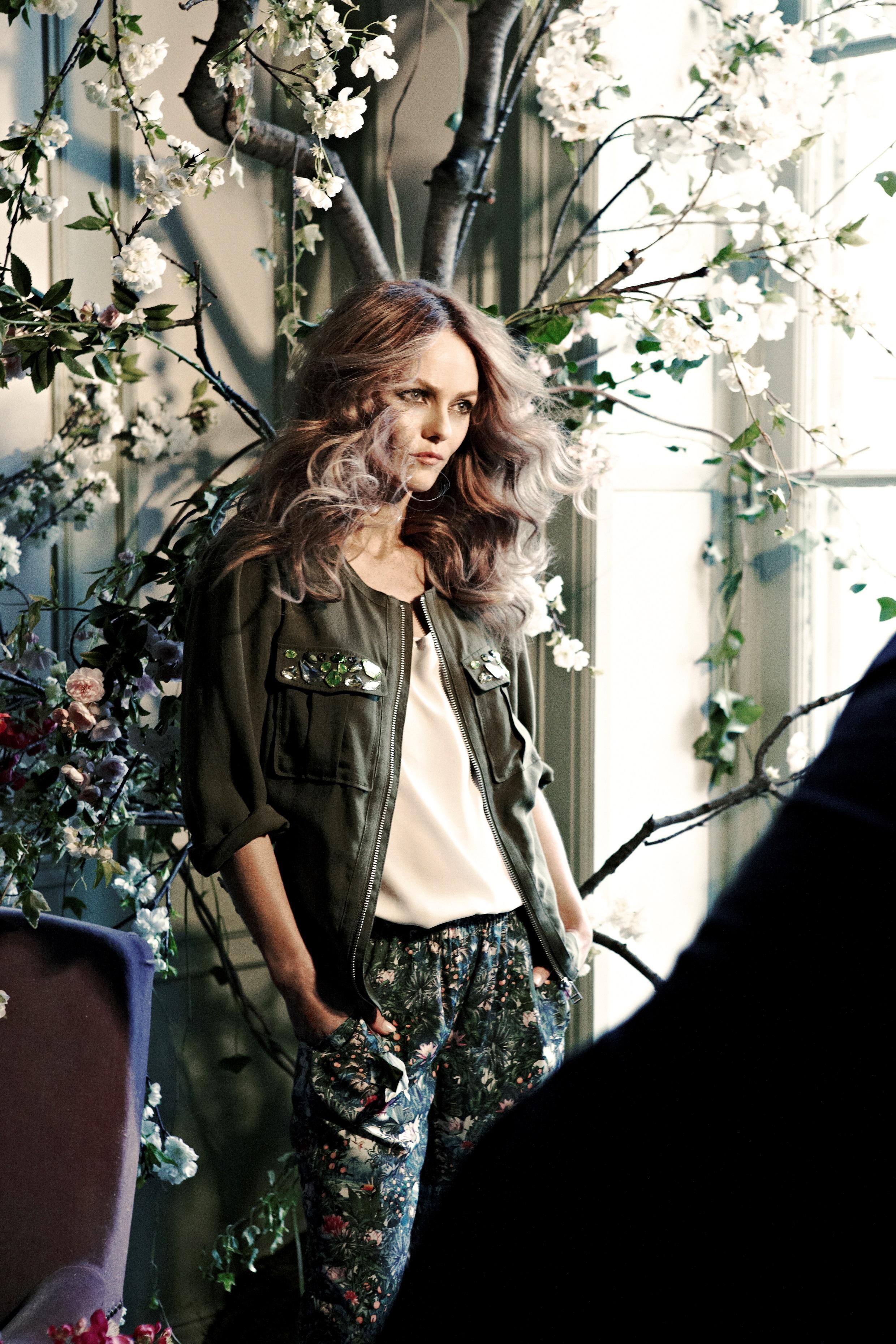 Vanessa Paradis  X  H&M; Conscious