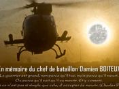 Opération Serval Memoriam Chef bataillon Damien Boiteux