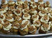 Cupcake noix chèvre Walnut goat cheese cupcakes