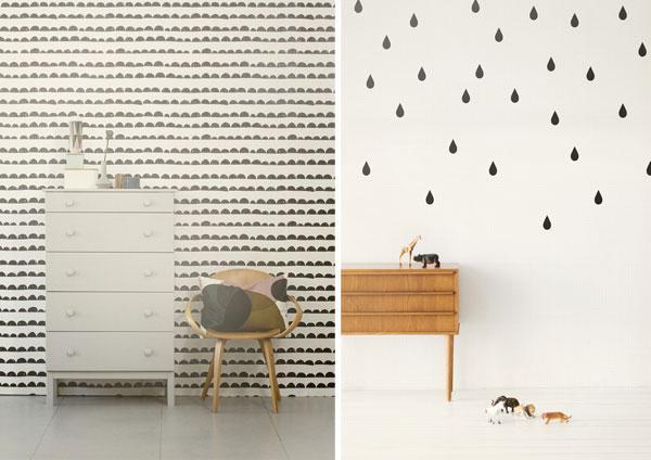Inspiration d co un mur de papier peint paperblog for Papier peint sur un seul mur