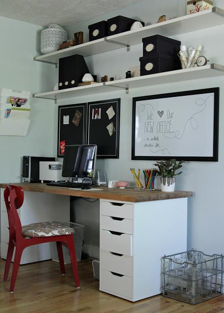bureau sur mesure ikea maison design. Black Bedroom Furniture Sets. Home Design Ideas