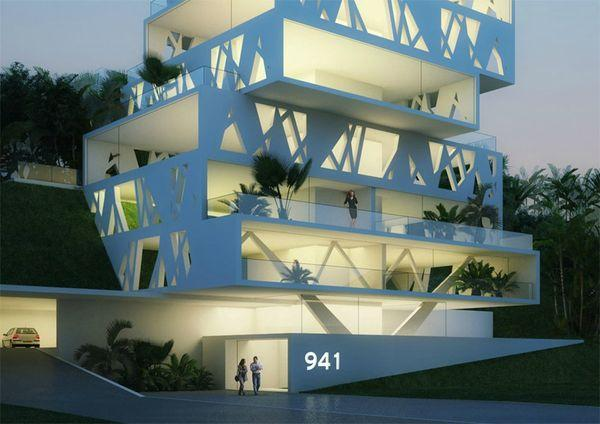 The cube projet architectural beyrouth paperblog for Architecture projet