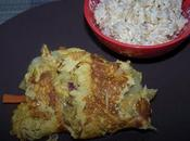 Omelette chinoise courges