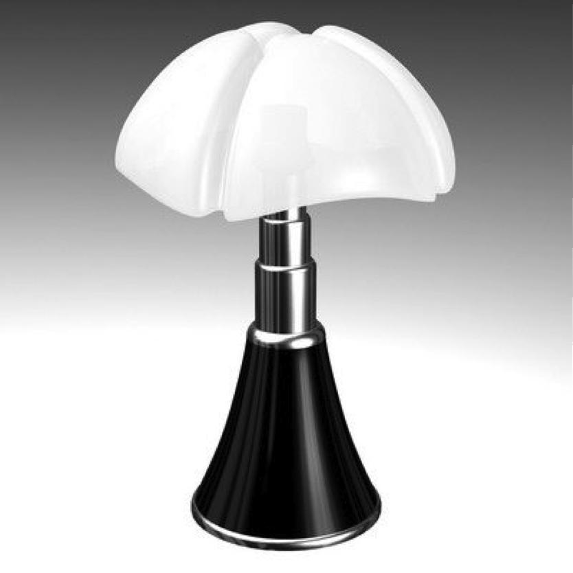 zoom sur la lampe pipistrello paperblog. Black Bedroom Furniture Sets. Home Design Ideas