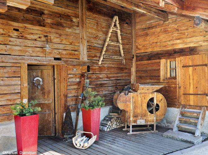 Tendance d co ambiance chalet voir for Decoration de chalet