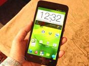 Grand Memo, smartphone quadcore pouces pour d'épaisseur
