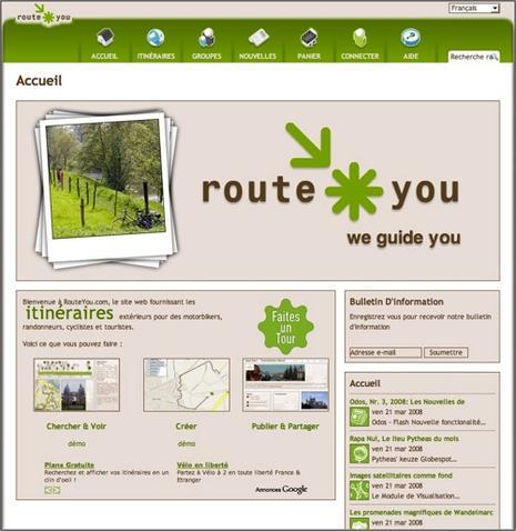 RouteYou, itinéraires et dénivelés pour GPS