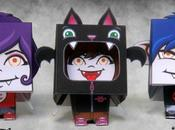 Papertoys 'The Gloom Crew'