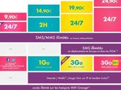 Sosh Nouvelles offres disponibles dont 9,90€ avec appels illimités