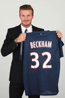 Le nouveau pari de David Beckham à Paris au PSG  /  The new challenge of David Beckham in Paris for PSG