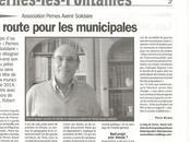 Municipales 2014 Pernes fontaines l'opposition prépare avec Robert IGOULEN