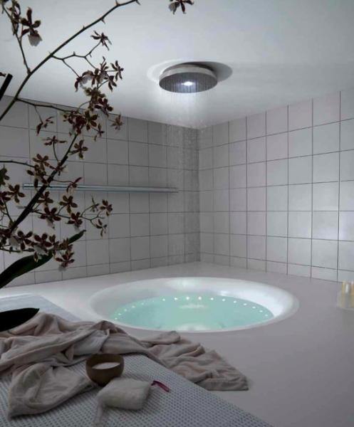 Baignoire design pour salle de bain zen paperblog for Salle de bain exotique