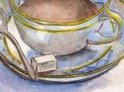 Tasse café l'aquarelle