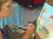 Yvonne artiste bassin d'arcachon ..inspiration creole villele..