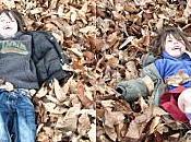 photo semaine bain feuilles mortes