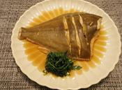 Poisson japonaise Carrelet カレイの煮付け