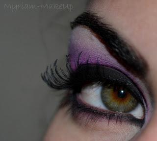 maquillage pour les yeux verts violet rose paperblog. Black Bedroom Furniture Sets. Home Design Ideas