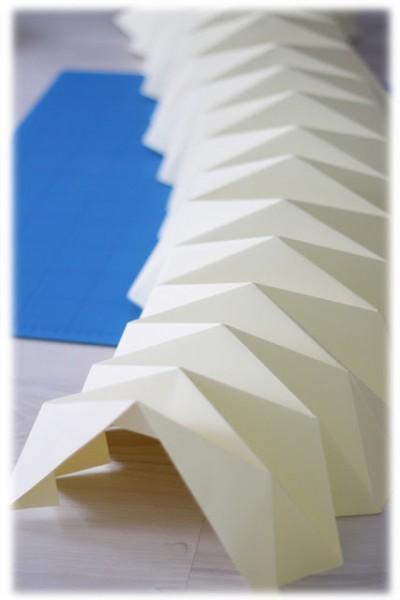 diyourself une lampe origami paperblog. Black Bedroom Furniture Sets. Home Design Ideas