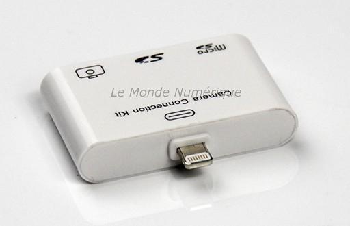 Kit De Connexion Usb Et Cartes M 233 Moires Pour Ipad Mini