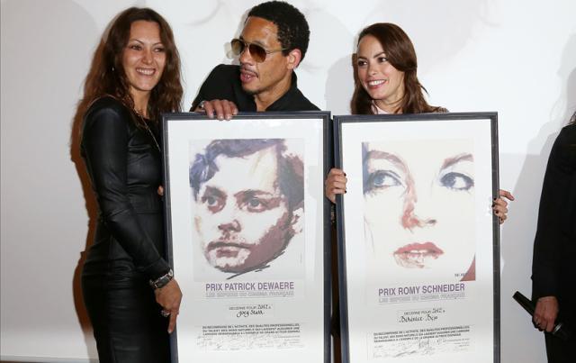 Joey Starr (et  Karole Rocher)  - Bérénice Béjo - Lauréats 2012