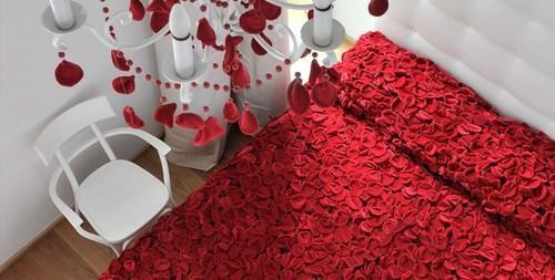 Chambre à Coucher Romantique Pour La Saint Valentin 5 Déco