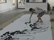 Exposition Chang-Woo SEOK Peintures encre Chine
