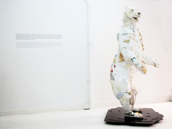 ours polaire disparition plastique fin du monde