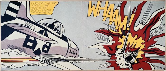 Roy Lichtenstein à la Tate Modern de Londres