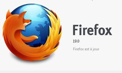 Mozilla Firefox 19 avec visionneuse de PDF et personnalisation sur mobile