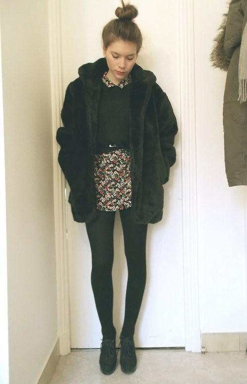 look petite robe d t revisit e en look d hiver voir. Black Bedroom Furniture Sets. Home Design Ideas
