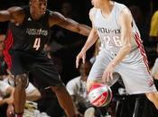 Usain Bolt claque dunk All-Star Celebrity Game