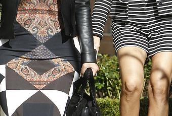 Kim kardashian quitte sa r sidence de beverly hills avec sa soeur kourtney paperblog - Peur de faire une fausse couche ...