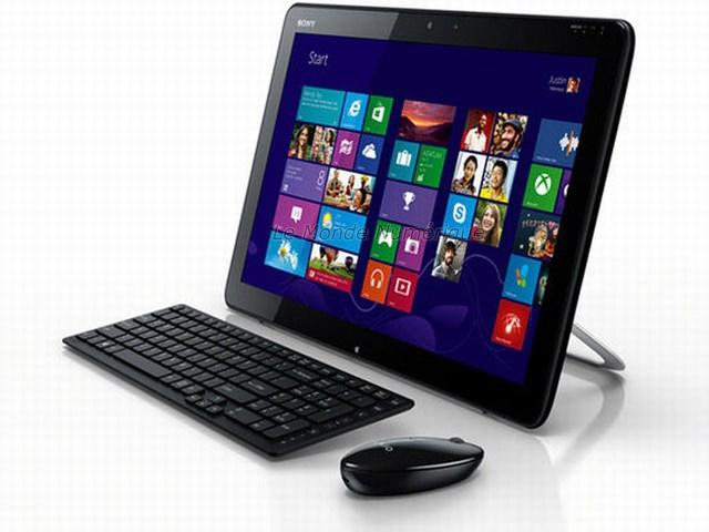 test de l 39 ordinateur tout en un tablette tactile sony vaio tap 20 vsj202 voir. Black Bedroom Furniture Sets. Home Design Ideas